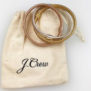 J. Crew Interlocking Stretch Bracelet